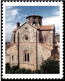 francobollo chiesa